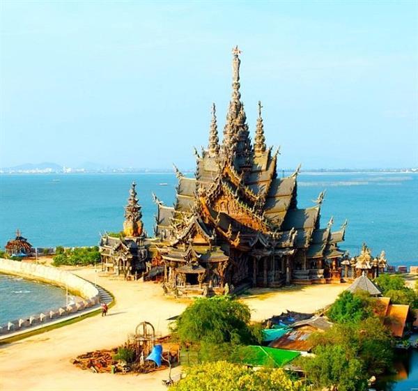Lâu đài chân lý - Tòa lâu đài gỗ không cần một cọng đinh ở Pattaya